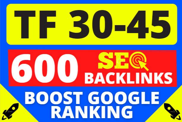 I will make high tf 30 plus 20 SEO backlinks