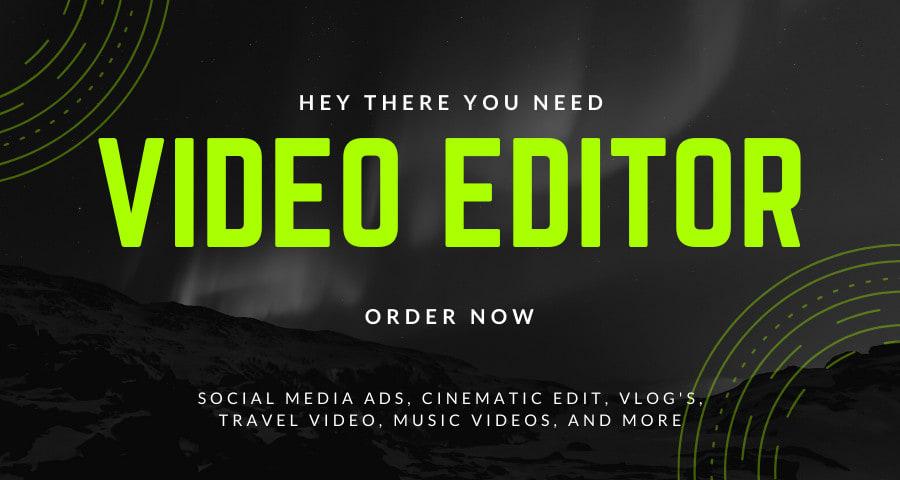 I will do Video Editing In Adobe Premiere Pro