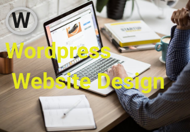 i Will Design personal, business Wordpress Website