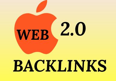 I Will Create Manually 30 Web 2.0 Permanent SEO Backlinks.