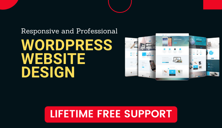 I will build or redesign responsive wordpress website and blog