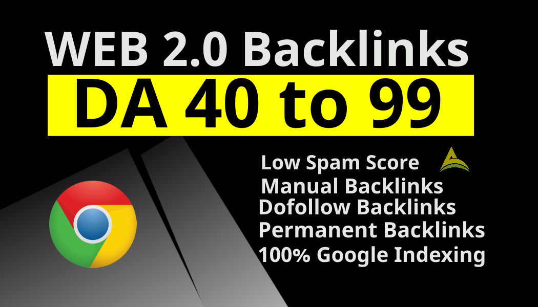 i will build 15 Web 2.0 backlinks with low spam score and dofollow