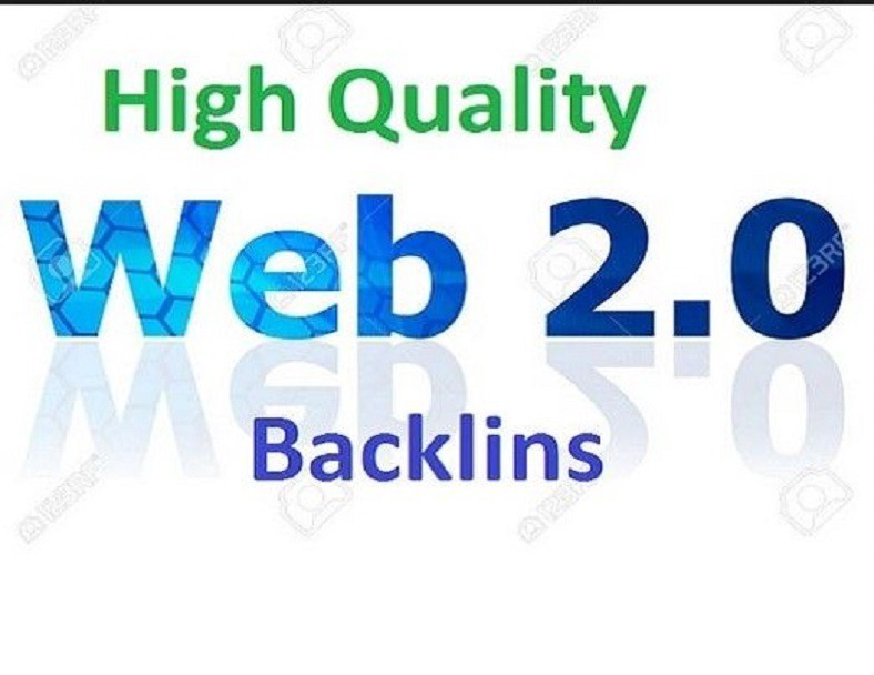 I will provide 25 Web2.0 Hgih Domian authority seo Backlinks