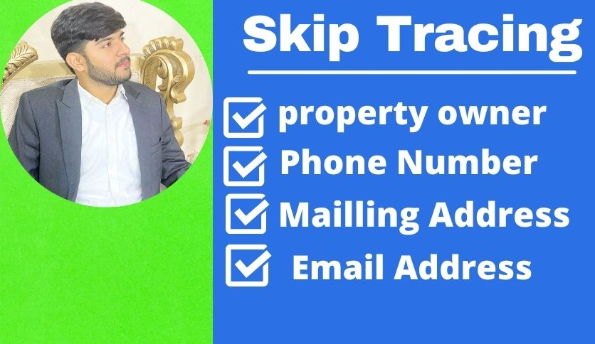 skip tracing service for real estate business