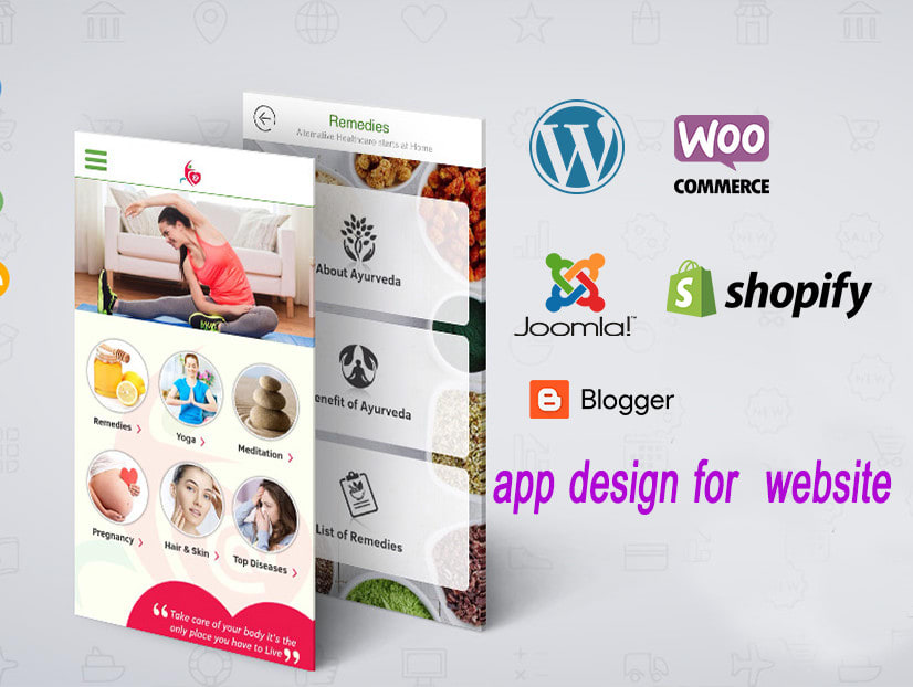 I will convert website into android app