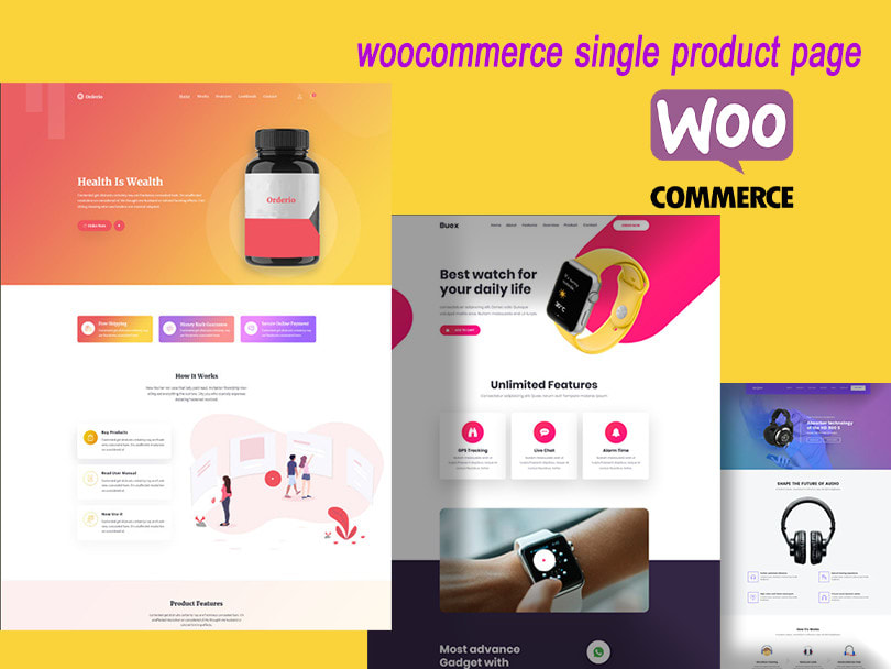 I will woocommerce single product page