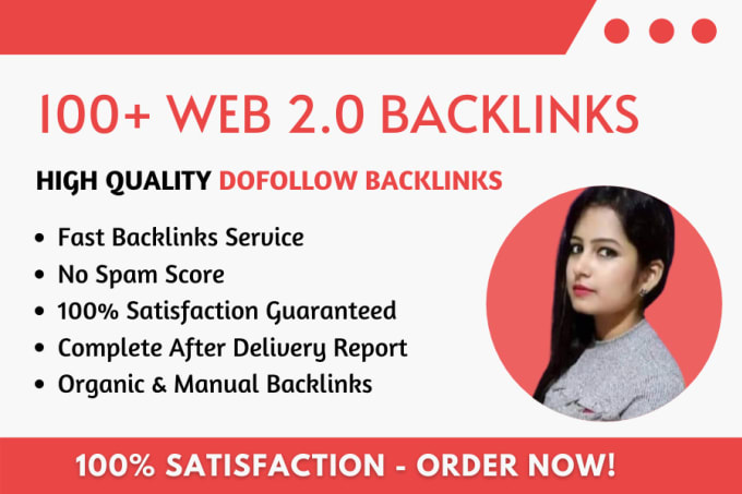 I will create 100 web 2.0 Backlinks