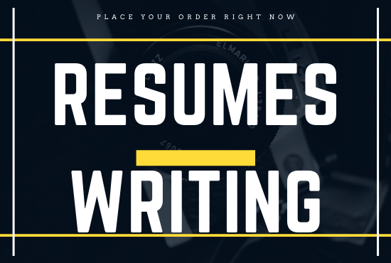 Professional and attractive resume for your blog