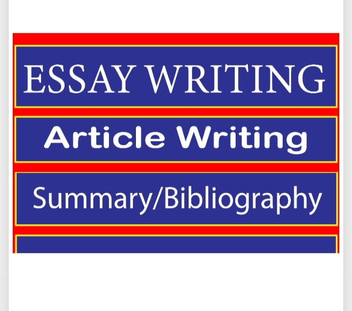 I will write thoroughly researched essays and annotated bibliography
