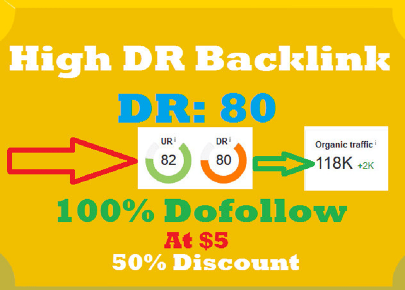 Manually create parmanent high quality DR 90+ backlink for SEO