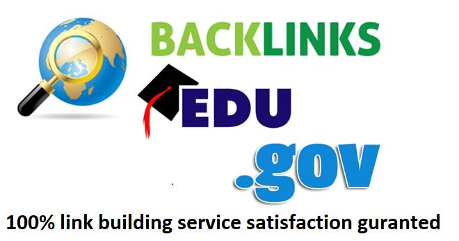 I will do provide 150 premium quality powerful Edu & Gov profile Backlinks