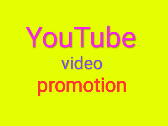 Safe YouTube video promotion best quality promotion
