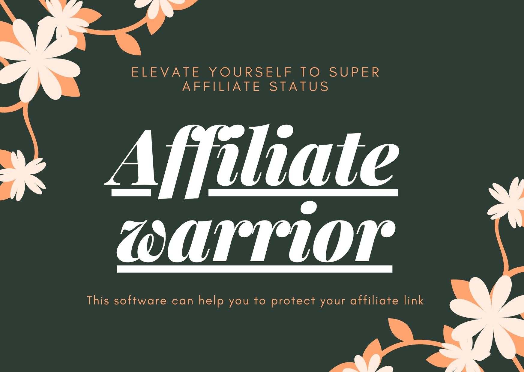 Elevate yourself to super affiliate status