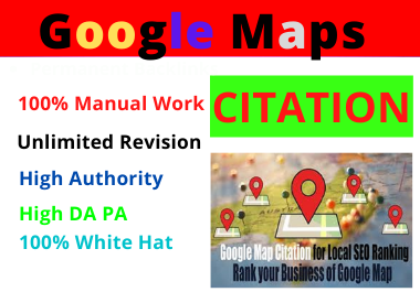 500 Google Map Citation Manual Pointing for Local Business SEO