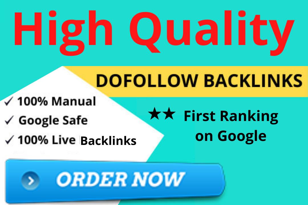 I will Create 500 HQ Dofollow Backlinks With High DA PA