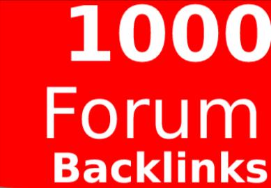 Get 3000 Forums Profile Backlinks