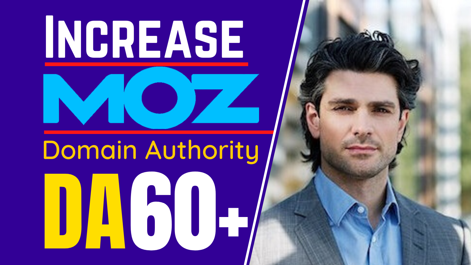 I will increase Domain Authority Increase MOZ DA 60 plus guaranteed