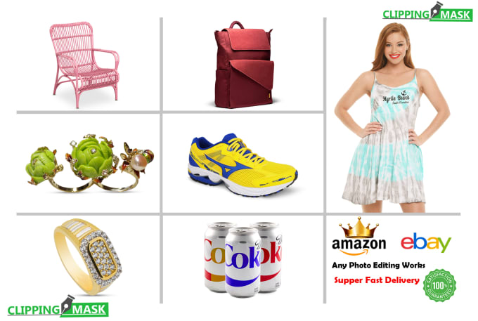 I will do 20 to 500 image background removal fast delivery