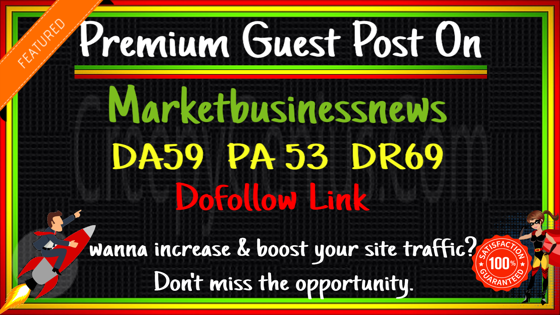 DO Guest Post ON marketbusinessmews. com With DOFOLLOW And Permanent Post