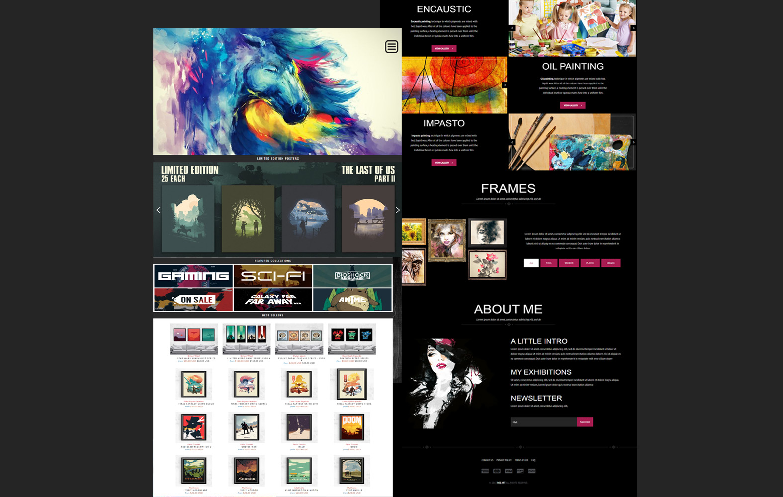 I will design PSD web template or PSD website