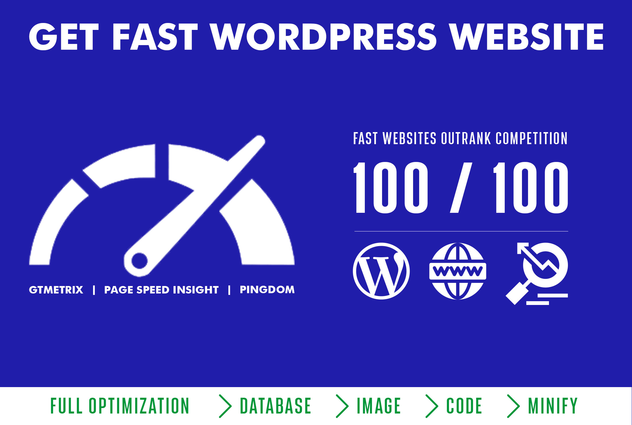 I will speedup your wordpress website