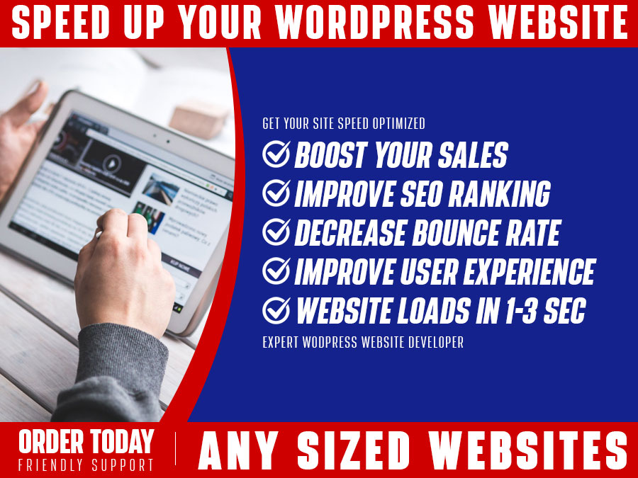 I will speed optimize WordPress site professionally for better performance & seo