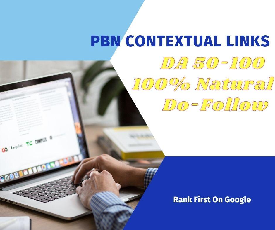 10 Do Follow PBN Contextual Links With DA 50-100 Be First On Google