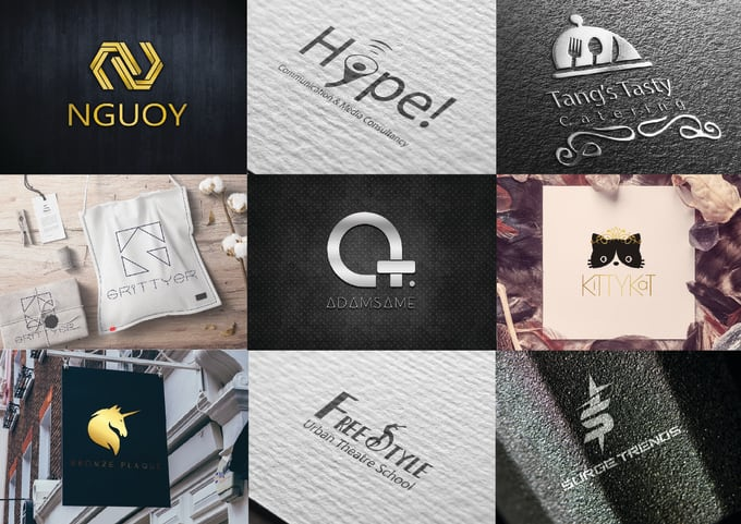 I will design a professional minimalist and flat logo for you at your price.