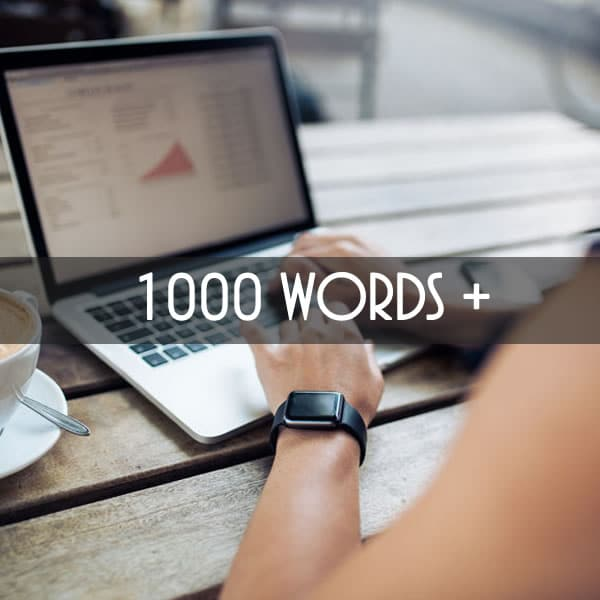 I will write 1000+ Article for you with the very real content delivered within a day
