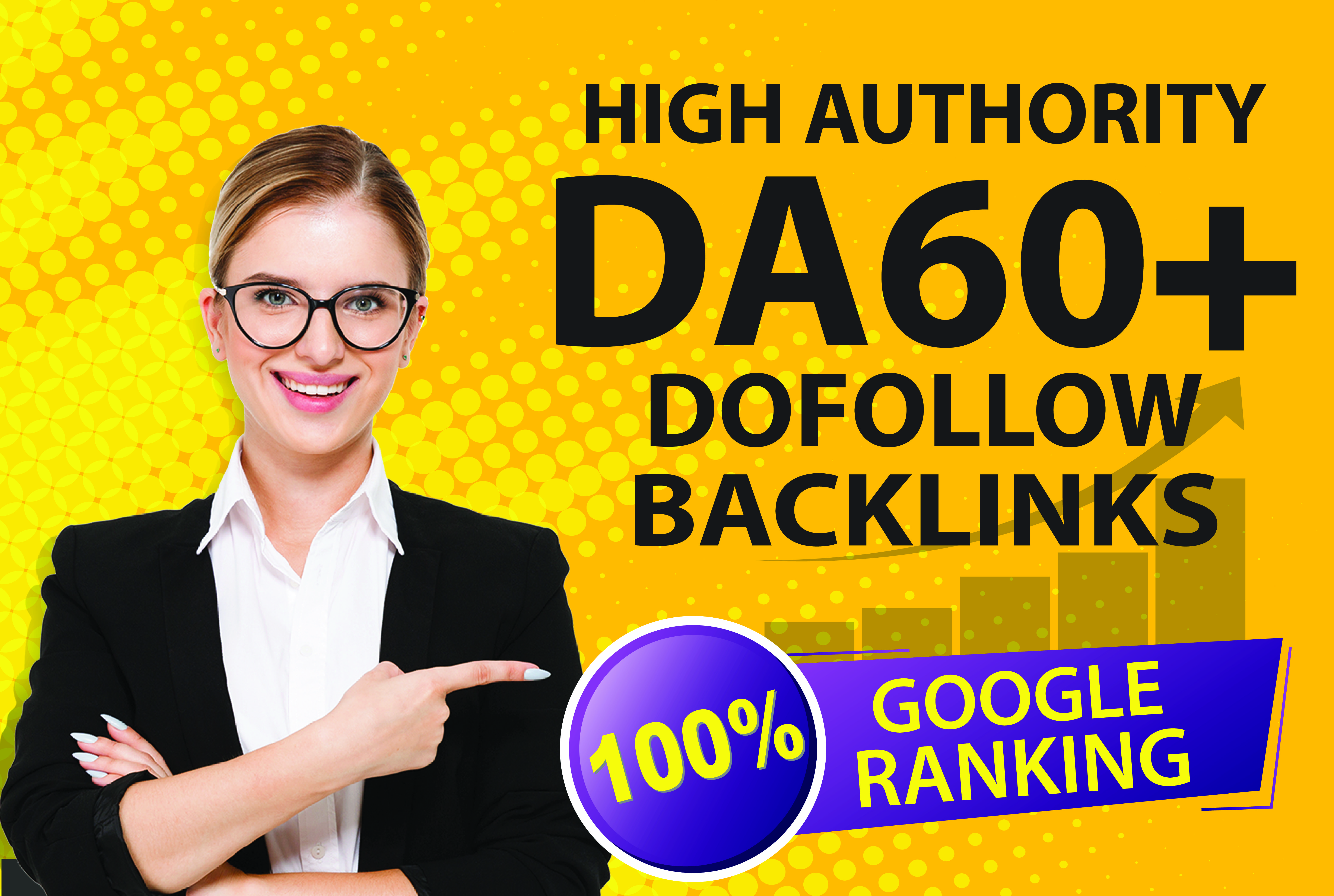 I will do 100+ high authority manually Dofollow backlinks & excellence SEO service