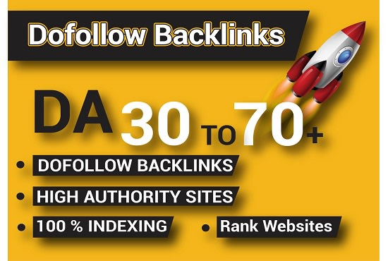 I will build high quality dofollow SEO backlinks for ranking website