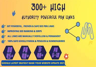 300+ Web2.0 Homepage Backlink High DA/PA With Unique web site & Ranking Your web site