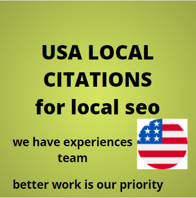 i will do for you 200 usa local citations for local seo