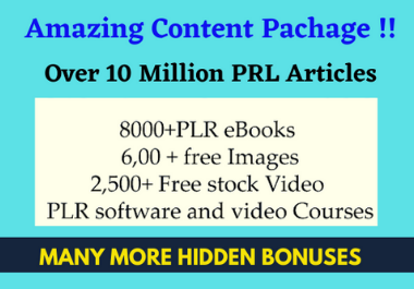 I will give10 million PRL articles 8000 eBooks and many more