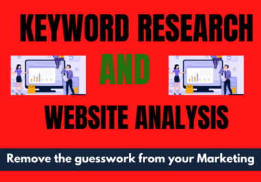 I will do deep keyword research
