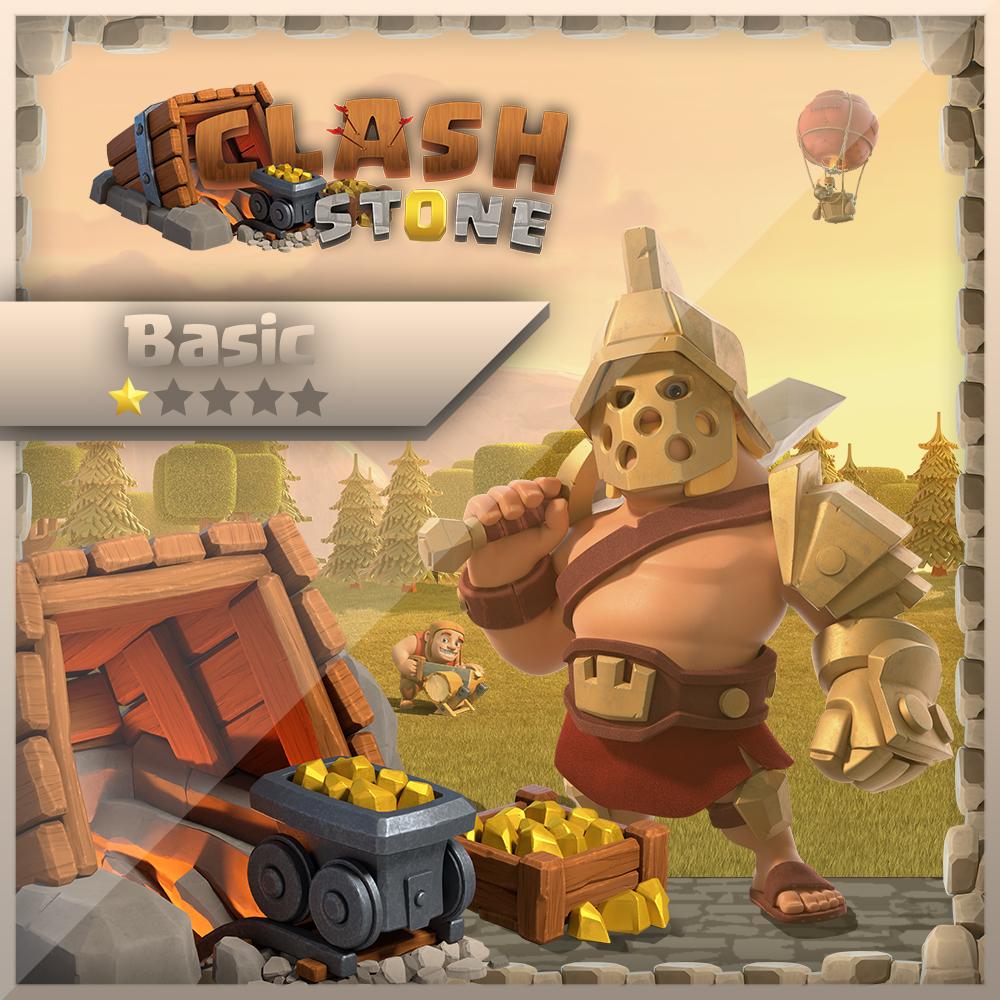 Clash of Clans Farming 24/7 30d Basic