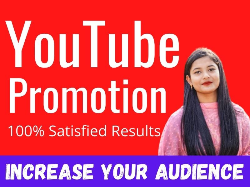 Organic super Fast youtube video promotion