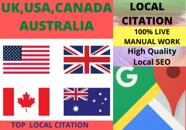 300 Google Maps Citation manual work to rank your google business page,  Directory.