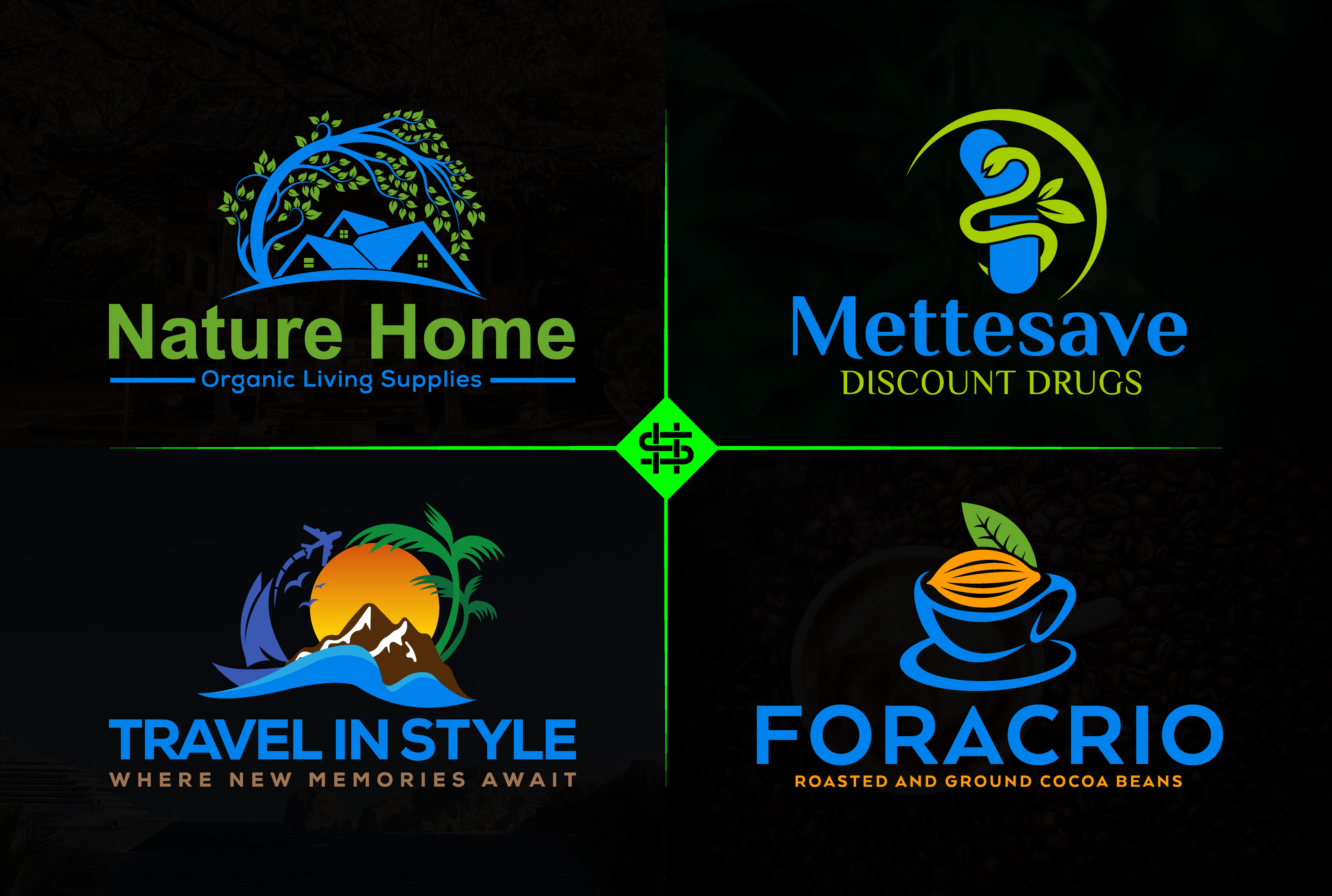 I will design professional business logo for your brand