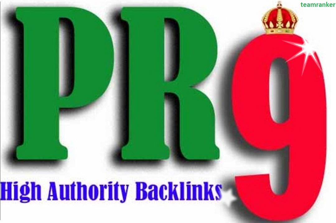 Create 30 USA pr9, edu profile backlinks service,  link building