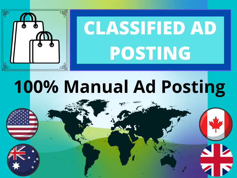 I will do classified ad posting on top 35 classified ad sites