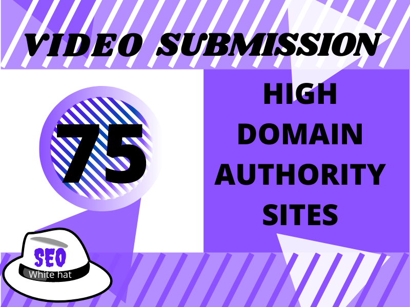 I will do manual video submission on 75 top video submission site