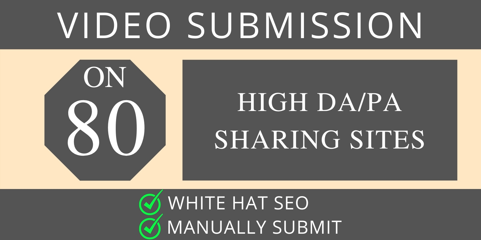 I Will Do Manual Video Submission On 80 Top Video Sharing Sites