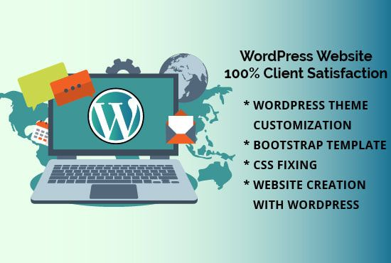 I will do wordpress theme customize as your need