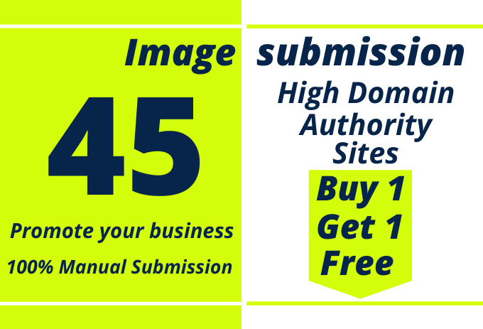 I will image submission or infographic to 45 image sharing sites