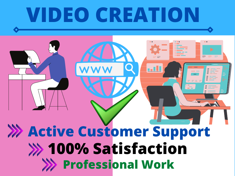 I will provide professional video creation and social media videos on 20 PR sites