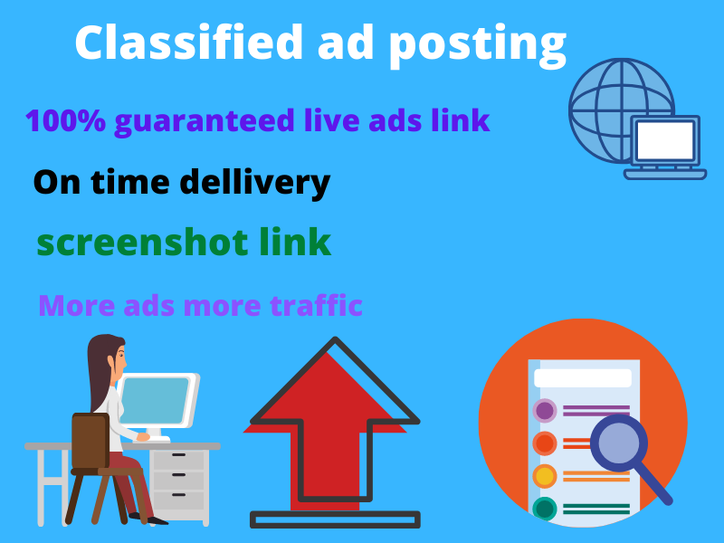I will post your classified ADs In 30 USA top site.