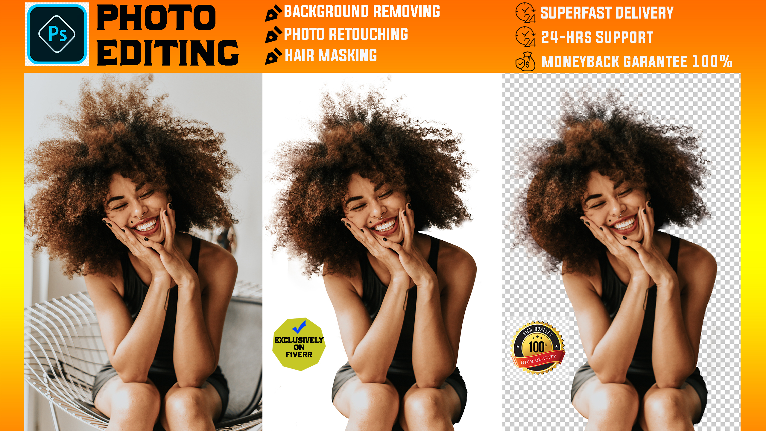 I will provide any image background remove within 12 hours