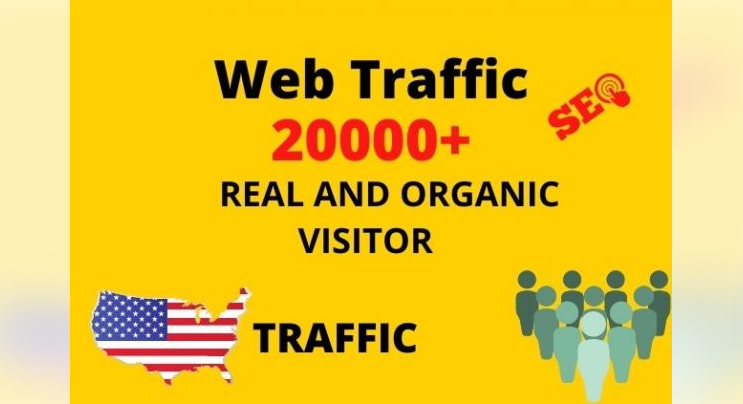 I will provide 150,000+ real or organic and targeted web traffic