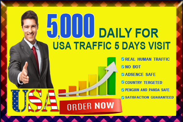 I will drive 25,000+ For Usa Web Traffic
